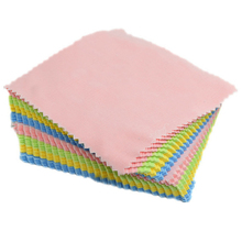 100pcs Square Micro Fiber Glasses Eyeglass Cleaning Cloth Polishing Camera Phone Computer Screen Stains Home Cleaning Cloth(China)
