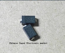 100 PCS SS12 DO-214AC 1N5817 SMD DIODE 1A(China)