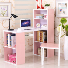 kids' bookcase pink bookshelf red book cabinet customized white bookcase