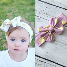 TWDVS Flower Hair Accessories Turbantes Headband Headwear Girl Headbands Hair Bows Headwraps Turban Headband KT025(China)