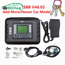 CNP Free Silca SBB V46.02 Auto Key Programmer With Multi-languages Support More Newer Car Model Than SBB V33.02 Firmware Update(China)