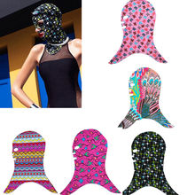 Cap Sunscreen Mask UV Sun Protection Bathing Cap Mask Facekini