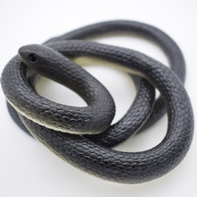 Realistic Soft Rubber Snake Playing Jokes Toy Home Garden Trick Joke Prank Halloween Prop Novelty Gags Practical Jokes(China)