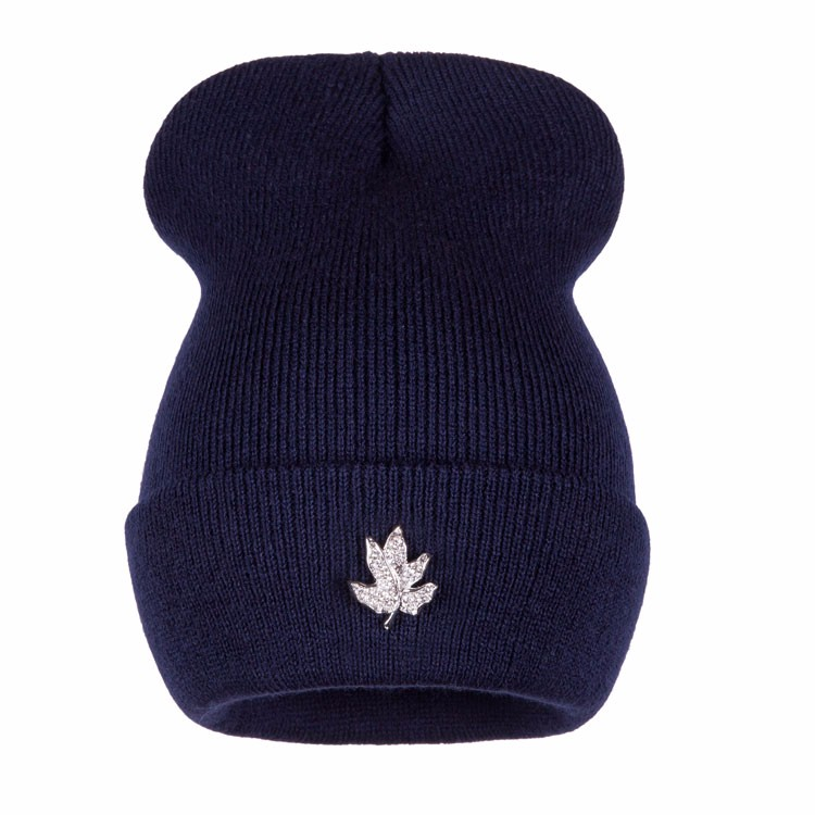 Ralferty Casual Crystal Leaf Beanie Winter Hats For Women Skullies Caps Female Chapeu Toca bonne gorras bonnet Cap Men Snowboard 8