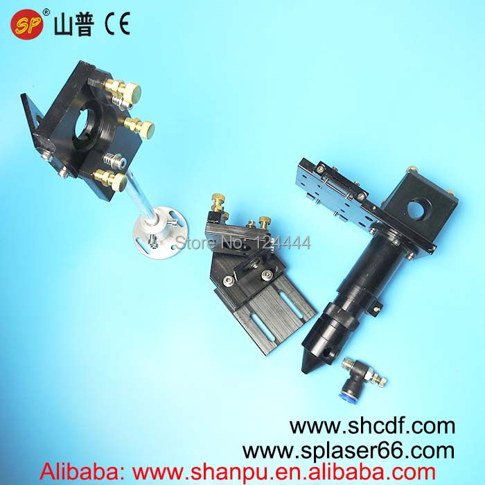 Co2 laser cutting head and mirror mounts  for 20mm lens and 25mm mirrors for CO2 laser cutting machines<br><br>Aliexpress