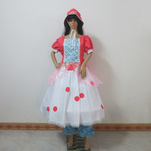 Toy Story Bo Peep Cosplay Costume Anime Custom Made Dress Custom Made Any Size(China)