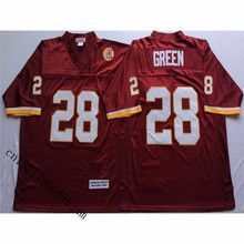 Mens Retro Darrell Green Stitched Name&Number Throwback Football Jersey Size M-3XL(China)