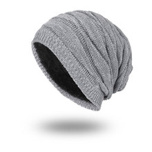 Knitted wool winter hats for men bonnet homme casual cap winter hat hats for women Super cool Skull pattern hats for men beanies(China)