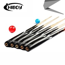 Brand Hiboy Billiard pool Cue, Cue tip 10mm, 145cm, Ash wood, Handmade 3/4 Snooker stick, High Quality, Free shipping