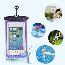 Sale 6 Colors Waterproof CellPhone Pouch Bag Case Underwater Swimming Case Phone Protector Diving Camera Accessories