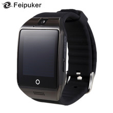 2017 Bluetooth Smart Watch Q18 Support Sim TF Card Connection Camera Android IOS Relojes Whatsapp Facebook Smartwatch dz09(China)