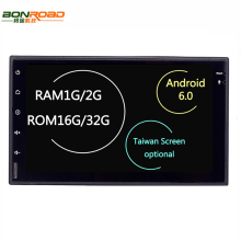 "7"" 2Din Universal Android 6.0 Quad Core 1024*600 Car PC Tablet GPS Navigation Radio Video Audio Player Wifi Car Headunit(No DVD)"