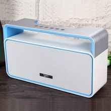 MUSKY Portable Stereo HIFI BT3.0 Bluetooth Speaker with MP3 FM Radio AUX Hands-free LED Light  Super Bass Subwoofer Loudspeakers