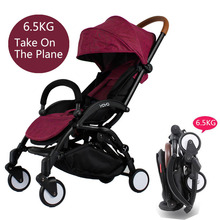New Travel Baby Portable Folding Umbrella Stroller Sit And Lie Down Bebek Arabasi Super Light Baby Stroller(China)