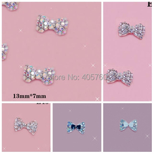 Novel  flat back Gems  Acrylic rhinestone design nail art , cell phone decorating dotting tool  50 pieces  dropship