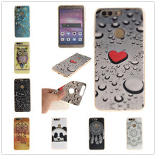 Luxury Paint Soft TPU IMD Silicone Phone Cover For Huawei honor 8 Back Skin Cover Cell Phone Case For Huawei honor8