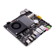 2 LAN,4 USB,2 display ports,4 COM Port Celeron 3215U 1.7G Dual core X86 Mini ITX Motherboard 12V Q3215UG2-H(China)