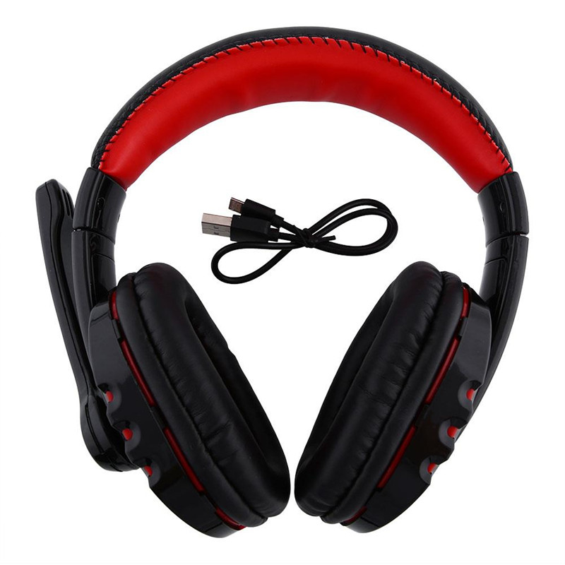 NEW Black Stereo Bluetooth Wireless Headphones Headset Mic Mobile Phone PC Tablet Gaming Headphones<br><br>Aliexpress