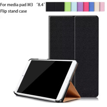 "Ultra thin Smart Cover Stand Case For Huawei MediaPad Media Pad M3 BTV-W09/DL09  8.4"" Tablet super slim Flip Cover Booklet Case"