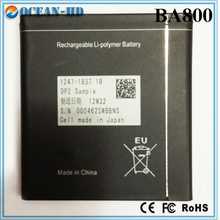 Wholesale Lots Retail BA800 Lithium Polymer Batteries For Sony Ericsson Xperia S Arc HD LT26i LT26 V LT25i Wholesale Battery