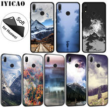 IYICAO Mountain Forest Clouds Soft Silicone Case for Huawei P30 P20 Pro P10 P9 P8 Lite Mini 2017 2016 2015 P Smart 2019 Cover(China)