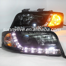 For Audi A6 LED head lamp 1997 - 2000 year V1 Type(China)