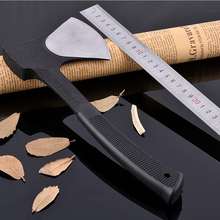 30cm Outdoor Survival Axe High Carbon Steel Camping Hatchet with Nylon Sheath Fire Ax Chopper Fishing Hunting Hand Tool