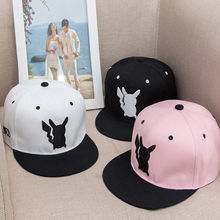 Boys Girls Sports Baseball Caps  Pokemon Go Baseball Hat Team Mystic InstInct Valor Cosplay Cap children's clothes accessories