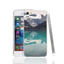 26985 Lake Louise Canada Cover cell phone Case for iPhone 4 4S 5 5S SE 5C 6 6S 7 Plus
