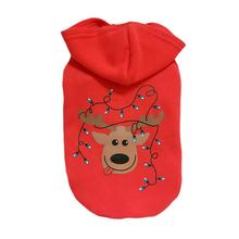 New Qualified Pet Puppy Dog Christmas Clothes Costume Outwear Coat Apparel Hoodie  Levert Dropship dig6824
