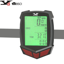 Wireless LED Display Bike Computers Bicycle Odometer Cycling Bike Computer cadence Speedometer Bicycle Accessories(China)