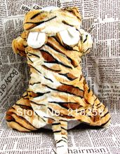 New Arrival Soft Tiger Four legs installed Pet Dogs Coat  Free Shipping By china post Dogs clothes