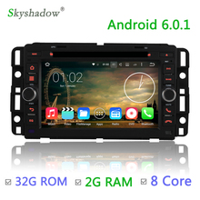 Octa core 2G RAM 32G ROM Android 6.0 Car DVD Player Radio GPS For GMC Yukon Savana 2009 2010 2011 2012 Chevy Chevrolet Express