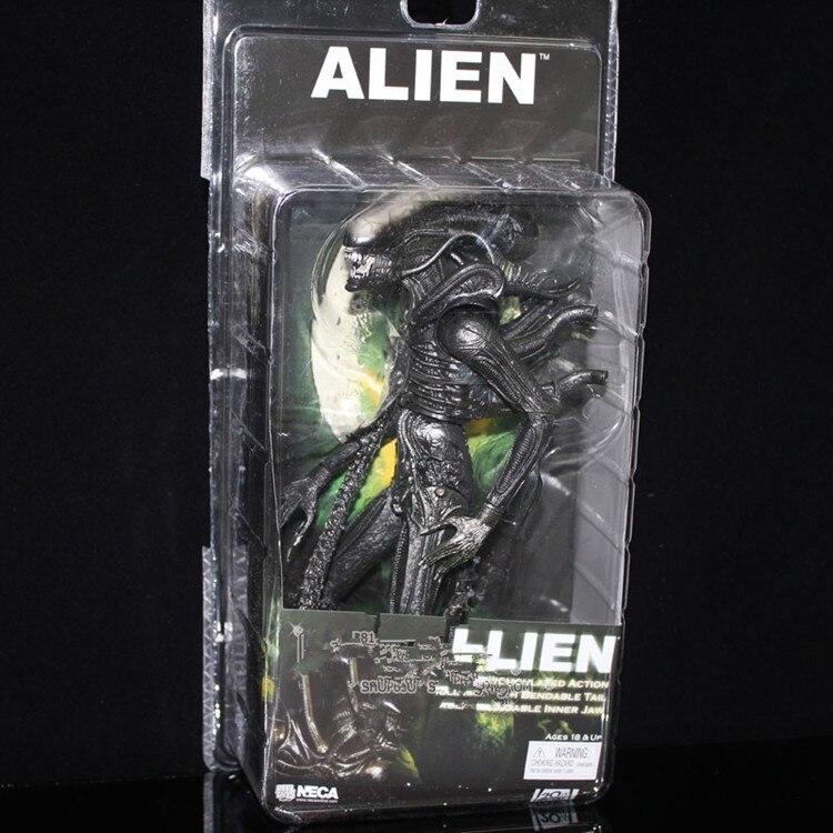 NECA 1979 Classic Original Alien Aliens Xenomorph Warrior Official Action Figure 2 Type Optional Toy PVC 7 18cm Free Shipping<br><br>Aliexpress