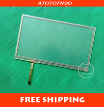 7 inch 4 wire resistive touch screen panel 7inch touch panel work for 7inch tft as HSD070IDW1 AT070TN92 AT070T90