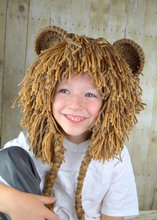 Lion Wig Halloween Costume Lion Hats Costumes for Kids adult  baby