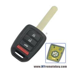Remtekey remote key 4 button car key for Honda key 313.8 Mhz MLBHLIK6-1T HON66 Accord LX Sport Civic CRV 2013 2014 2015