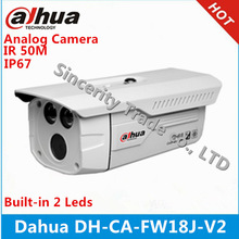Dahua DH-CA-FW18J-V2 720TVL Analog CCTV Camera Smart IR 50M 1/3 HDIS 960(H) X 480(V) IP 67 Outdoor Waterproof security Camera