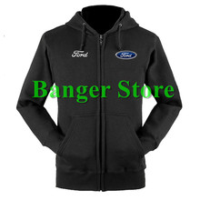 Ford sweatshirts coat custom ford 4S shop hoodie jacket for men and women(China)