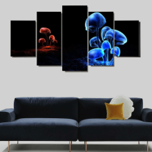 5 Panels Oil Painting Dafen Dewang Painting By Numbers Modular Painting By Numbers Paint On Canvas Sale Frame Canvas Prints