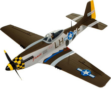 North American P-51D P51D 680mm RC Wingspan Warbird KIT(China)