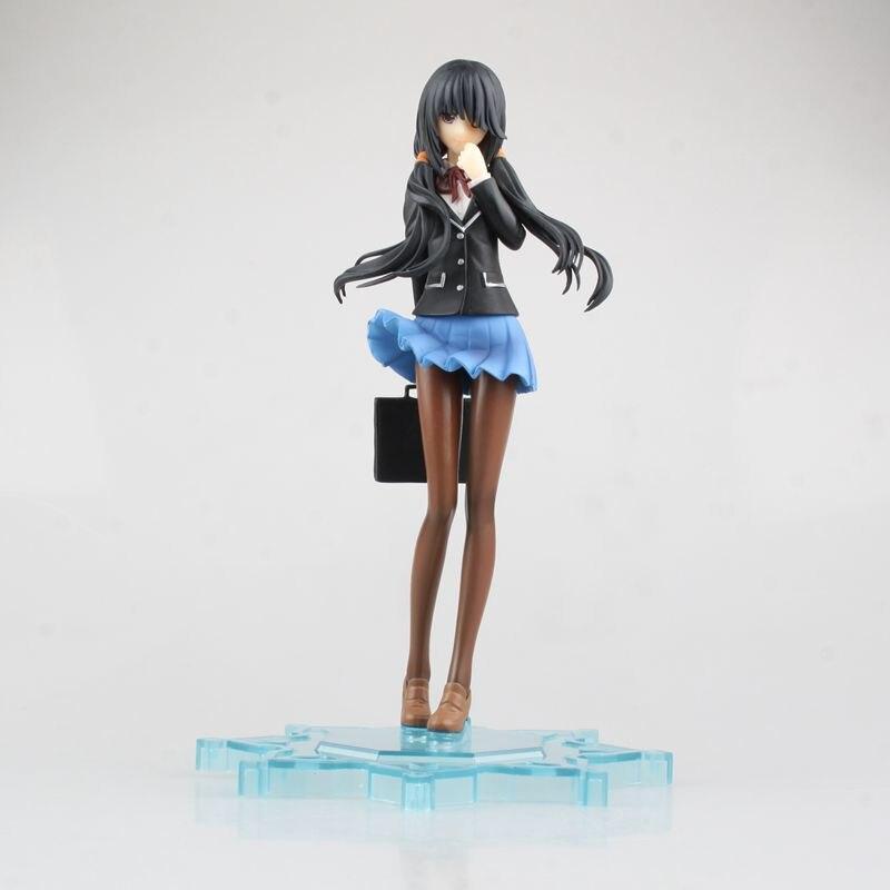 Anime Date A Live Tokisaki Kurumi School Uniform Ver. 1/8 Scale Painted PVC Action Figure Collectible Model Kids Toys Doll 16CM <br><br>Aliexpress