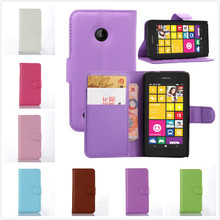 Wallet Style PU Leather Case for Microsoft Nokia Lumia 530 with Card Holders Smart Stand Soft Cover case for Nokia Lumia 530