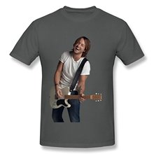 New 2017 Fashion Mens T-Shirts Men's Keith Urban Once In A Life Time T-shirt 100% Cotton Letter Printed T-Shirts(China)