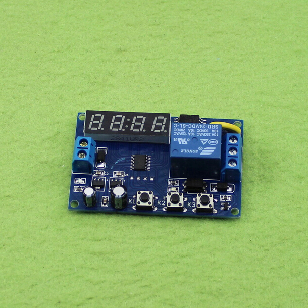 12V 24v relay module 12V real time relay time control switch timing switch time delay module circuit board<br><br>Aliexpress