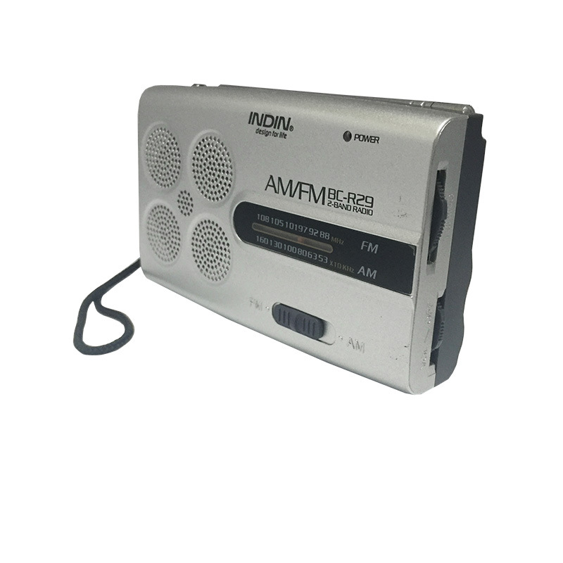 4 Digital Tuning Stereo Player FMAM Radio Receiver Mini Radio Receiver Music Speaker Powerful Radio Receiver for Parents Gifts