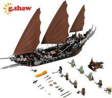 g.shaw bricks toy DIY Building Blocks Compatible with Lego LOTR 79008 Pirate Ship Ambush (Discontinued by manufacturer)