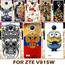Top Selling Painting design Hard Plastic Case For ZTE Blade Buzz V815W 4.5 inch V 815W V815 815 W Phone Cover Protective Sleeve