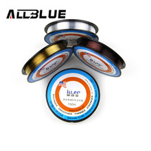 Free Shipping High Quality Transparent Fluorocarbon Fishing Line 150m 0.4#/0.10mm---5.0#/0.37mm line fishing