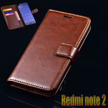 xiaomi redmi note 2 case cover luxury leather flip Phone Bags for xiaomi redmi note2 note 2 ultra thin Mobile Phone Bags Case
